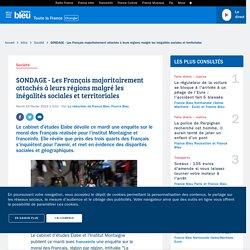 SONDAGE - Les Français majoritairement attachés à leurs régions malgré les inégalités sociales et territoriales