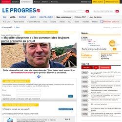 « Majorité citoyenne » : les communistes toujours partie prenante au projet