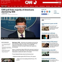 CNN poll: Majority of Americans alarmed by ISIS