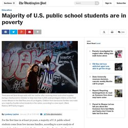 Majority of U.S. public school students are in poverty