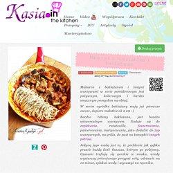 Makaron z kurczakiem i bakłażanem - Kasia.in Blog - Moja pasja - Gotowanie