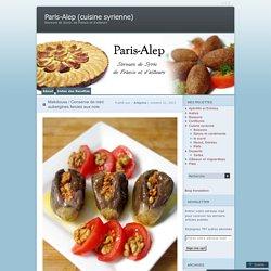 Makdouss / Conserve de mini aubergines farcies aux noix