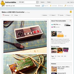 Make a USB NES Controller