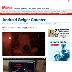 Android Geiger Counter