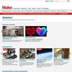 Make: Online: Arduino Archives