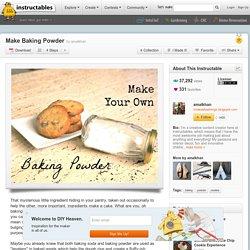 Make Baking Powder