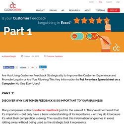 How to make the best use of Customer Feedback?