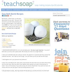 Easy Bath Fizzy Recipes