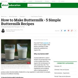 How to Make Buttermilk - 5 Simple Recipes