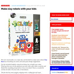 Make clay robots with your kids / Boing Boing