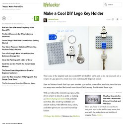 Make a Cool DIY Lego Key Holder