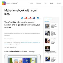 Make an ebook with your kids!