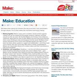 Make: Education