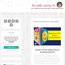 Make Your Own Emoji Agamograph - Art with Jenny K