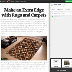 Make an Extra Edge with Rugs and Carpets