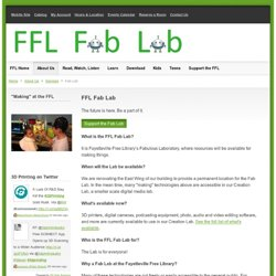 A Fabulous Laboratory @ the FFL