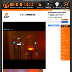 Make Giant LEDS