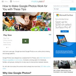 How to Make Google Photos Work for You with These Tips