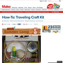 Traveling Craft Kit