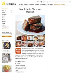 How To Make Marvelous Meatloaf