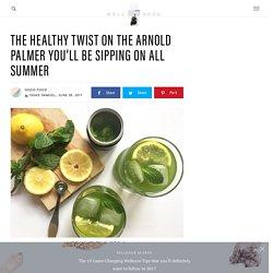How to make matcha lemonade