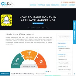 How To Make Money In Affiliate Marketing? - QL Tech