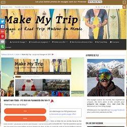 Make My Trip : ce qui va changer en 2017 □