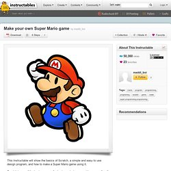 Make your own Super Mario game