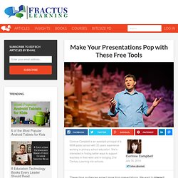 Make Your Presentations Pop with These Free Tools