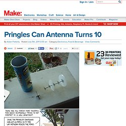 Pringles Can Antenna Turns 10