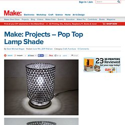 Pop Top Lampshades
