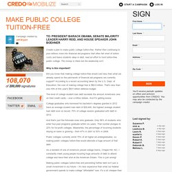 Make Public College Tuition-Free