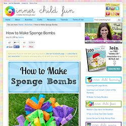 Sponge Bomb Bucket Toss