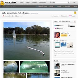Make a swimming Robo-Snake