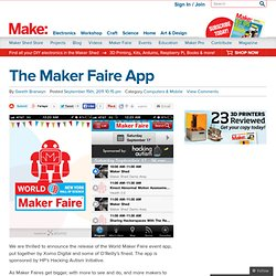 The Maker Faire App
