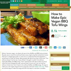How to Make Epic Vegan BBQ Tofu Wings