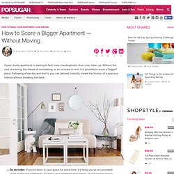 How to Make Your Apartment Look Bigger
