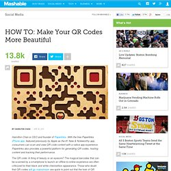 HOW TO: Make Your QR Codes More Beautiful