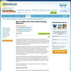 How to Make Your Home More Energy-Efficient?