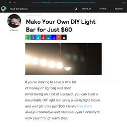Make Your Own DIY Light Bar for Just $60