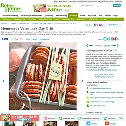 Make-Your-Own Valentine's Day Gifts