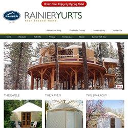 Make a Yurt Your Second Home - Rainier Yurts