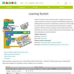 Learning Scratch