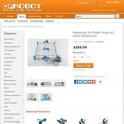 Makeblock XY-Plotter Robot Kit (With Electronics)
