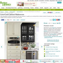 30 Low-Cost Cabinet Makeovers: Save Money...