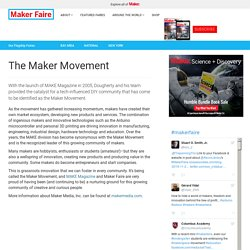 Maker Movement is a web page that make movement