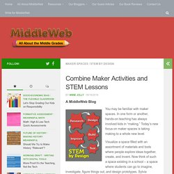 Maker Spaces Can Round Out STEM Lessons