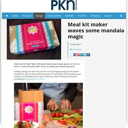 Meal kit maker waves some mandala magic - Packaging News