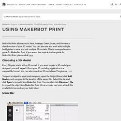 MakerBot Print (Software)