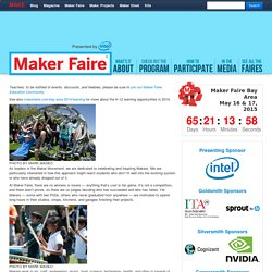 Maker Faire Education